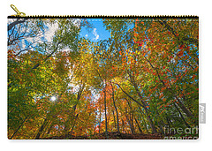 Autumn Colors  Carry-all Pouch by Michael Ver Sprill