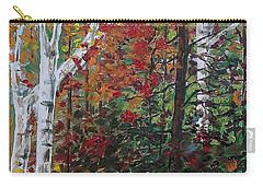 Autumn Colors Carry-all Pouch by Mike Caitham