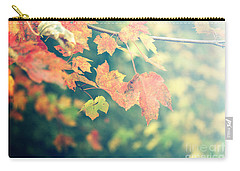 Carry-all Pouch featuring the photograph Autumn Colors by Rebecca Davis
