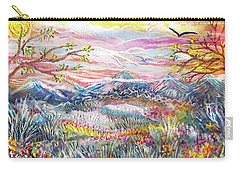 Autumn Country Mountains Carry-all Pouch