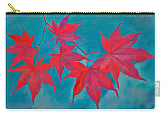 Autumn Crimson Carry-all Pouch