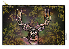 Autumn Deer Abstract Carry-all Pouch