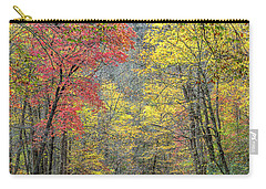 Autumn Drive Through Pisgah National Forest Carry-all Pouch