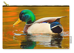 Autumn Duck Carry-all Pouch