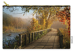 Autumn Emerging Carry-all Pouch by Rob Blair