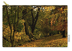 Autumn / Fall By The River Ness Carry-all Pouch by Jacqi Elmslie