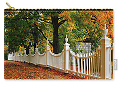 Autumn Fencing Carry-all Pouch by James Kirkikis