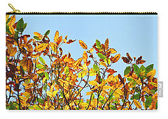 Autumn Flames - Original Carry-all Pouch by Rebecca Harman