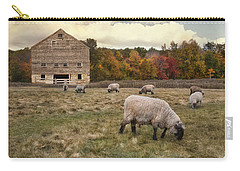Carry-all Pouch featuring the photograph Autumn Fleece by Robin-Lee Vieira