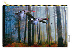 Autumn Flight Carry-all Pouch by Diane Schuster