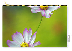 Carry-all Pouch featuring the photograph Autumn Flowers by Byron Varvarigos