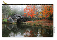 Autumn Foggy Morning At Mabry Mill Virginia  Carry-all Pouch