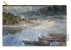 Autumn Fogs In Kin Carry-all Pouch