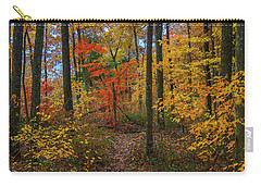 Autumn Forest Hike Carry-all Pouch