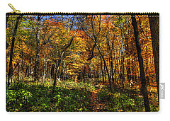 Autumn Forest Path At Johnson's Mound Carry-all Pouch