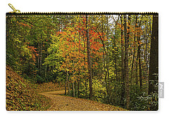 Autumn Forest Road. Carry-all Pouch