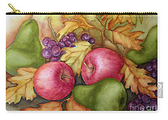 Autumn Fruit Still Life Carry-all Pouch