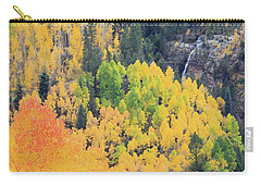 Carry-all Pouch featuring the photograph Autumn Glory by David Chandler