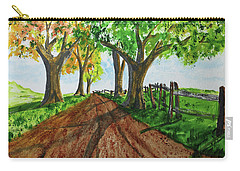 Carry-all Pouch featuring the painting Autumn Glory by Jack G Brauer