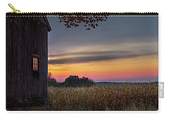 Carry-all Pouch featuring the photograph Autumn Glow by Bill Wakeley