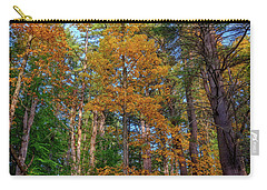 Carry-all Pouch featuring the photograph Autumn Glow In The Woods by Rick Berk