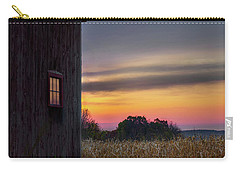 Carry-all Pouch featuring the photograph Autumn Glow Square by Bill Wakeley