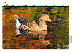 Autumn Goose Reflection Carry-all Pouch