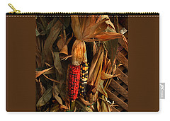 Carry-all Pouch featuring the photograph Autumn Harvest by Kathleen Stephens