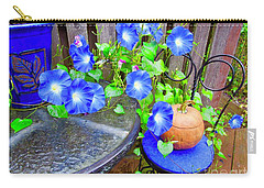 Autumn Heavenly Blues  Carry-all Pouch