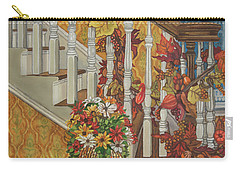 Autumn Hues Carry-all Pouch by Bonnie Siracusa
