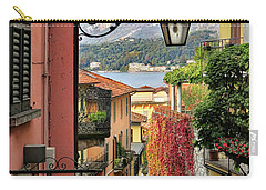 Autumn In Bellagio Carry-all Pouch by Jennie Breeze