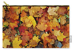Autumn In Canada Carry-all Pouch by Reb Frost