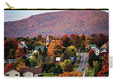 Autumn In Danville Vermont Carry-all Pouch by Sherman Perry
