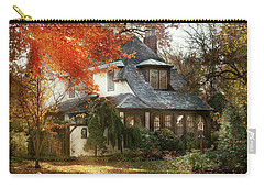 Carry-all Pouch featuring the photograph Autumn - In Every Fairy Tale by Mike Savad