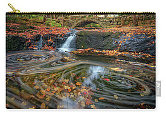 Carry-all Pouch featuring the photograph Autumn In Hallowell by Rick Berk