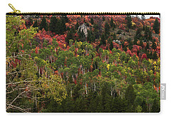 Carry-all Pouch featuring the photograph Autumn In Idaho by Yeates Photography