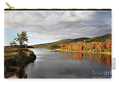 Autumn In Margaree Valley Cape Breton Carry-all Pouch