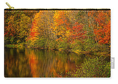 Autumn In Monroe Carry-all Pouch by Karol Livote