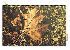Carry-all Pouch featuring the photograph Autumn In Narrandera by Jorgo Photography - Wall Art Gallery