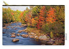 Autumn In New Hampshire Carry-all Pouch by Betty Denise