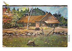 Autumn In Early  North West Territory Carry-all Pouch