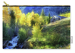 Autumn In Ophir - Colorado - Aspens Carry-all Pouch by Jason Politte