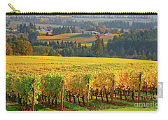 Autumn In Oregon Wine Country Carry-all Pouch