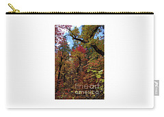 Carry-all Pouch featuring the photograph Autumn In Sedona by Frank Stallone