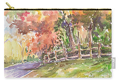 Autumn In The Air Carry-all Pouch
