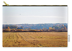 Autumn In The Countryside Carry-all Pouch