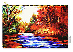 Autumn In The Deep Forest Carry-all Pouch