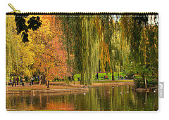 Autumn In The Garden Carry-all Pouch