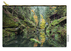 Autumn In The Kamnitz Gorge Carry-all Pouch
