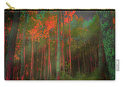 Autumn In The Magic Forest Carry-all Pouch by Mimulux patricia no No